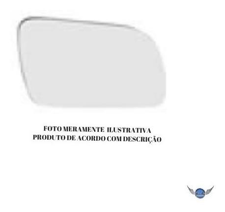 lente retrovisor vidro  nissan tiida lado esquerdo motorista