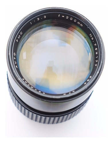lente rexatar 200 para olympus  f3.3