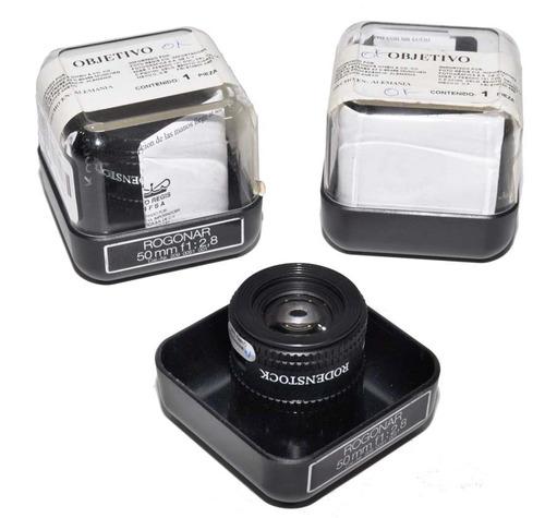lente rogonar 50 mm 2.8 p/ ampliadora fotografica. estuche