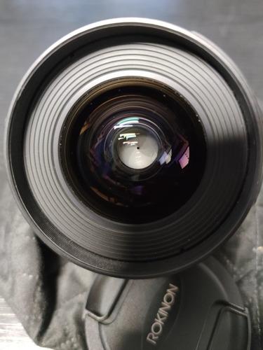 lente rokinon 24 mm t1.5 cine montura canon