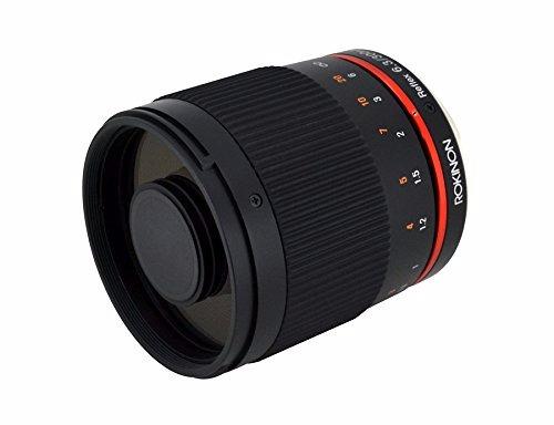 lente rokinon 300mm f6.3 telefoto para sony nex e-mount