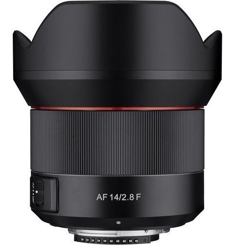 lente rokinon af 14mm f/2.8 para nikon c/ recibo
