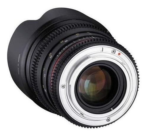 lente rokinon cine ds t1.5 50mm como si umc marco comple