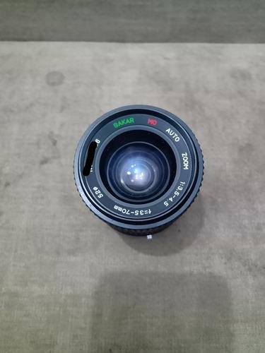 lente sakar 35-70mm para colecionadores usada e com fungo