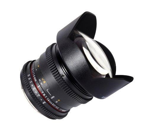 lente samyang sycv14m-mft 14mm t3.1 ultra angle cine lens