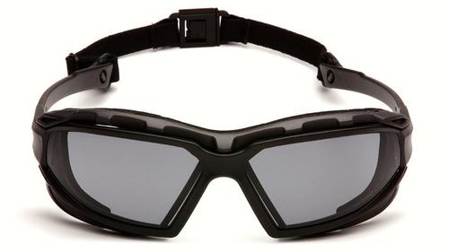 lente seguridad gris, goggle, highlander plus, pyramex