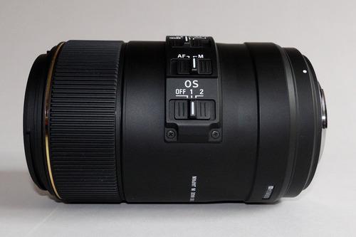 lente sigma 105mm f2.8 ex dg os macro montura sony tipo a