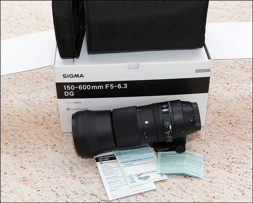 lente sigma 150-600mm f5-6.3 hsm | c p/ nikon