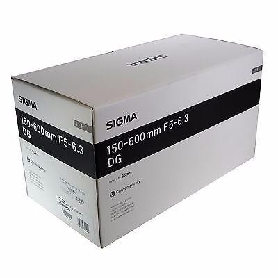 lente sigma 150-600mm f5-6.3 hsm | c p/ nikon p. entrega