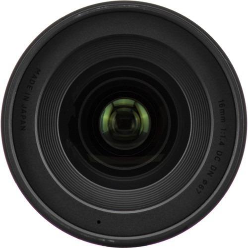 lente sigma 16 f/1.4 dc dn p/sony a6000,a6300 e-mount aps-c