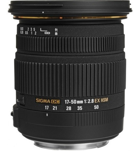 lente sigma 17-50mm f 2.8 ex dc os hsm para canon