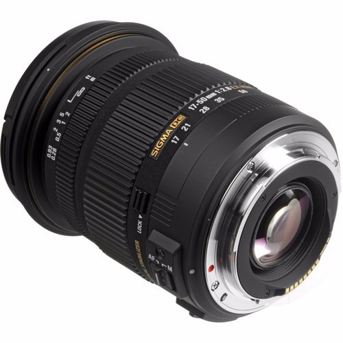 122915796e4eb Lente Sigma 17-50mm F 2.8 Ex Dc Os Hsm P  Canon - Temos Loja - R  1.679,00  em Mercado Livre