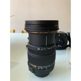 Lente Sigma 17-50mm F/2.8 Nikon