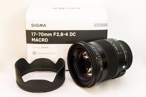lente sigma 17-70mm f2.8-4 dc macro art p/ canon p.  entrega