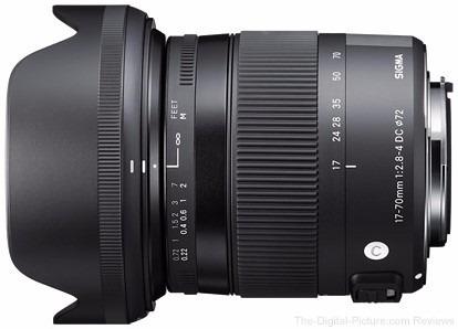 lente sigma 17-70mm f2.8-4 dc macro art p/ nikon p. entrega