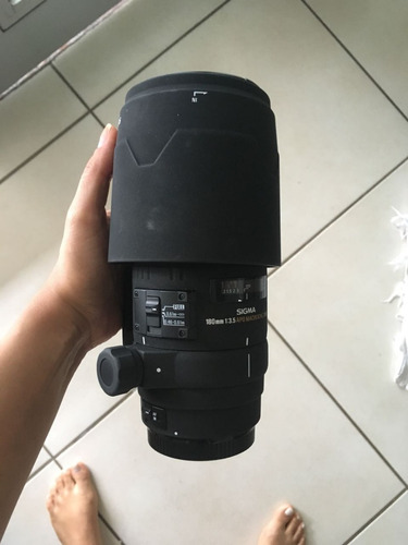 lente sigma 180mm canon