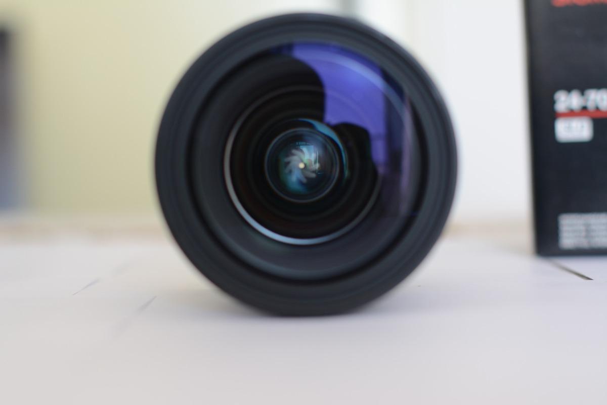 Lente Sigma 24 70mm F 28 If Ex Dg Hsm Para Nikon R 315000 Em For Carregando Zoom