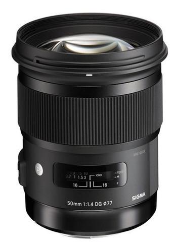 lente sigma 50mm f1.4 art para canon/nikon garantía