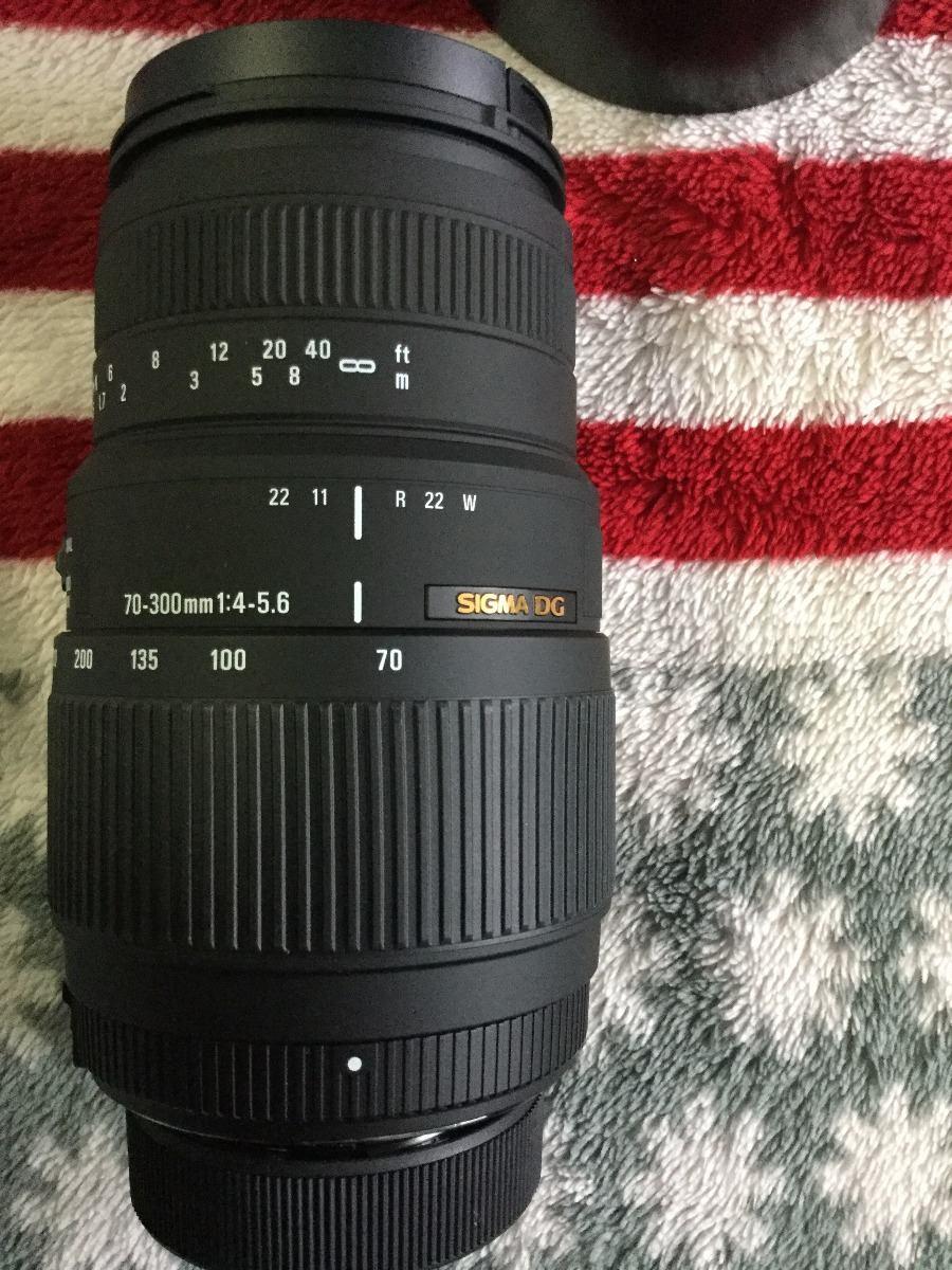 Lente Sigma 70 300mm F4 56 Dg Macro Canon E Nikon Nova R 69999 F 4 Os Lens For Carregando Zoom