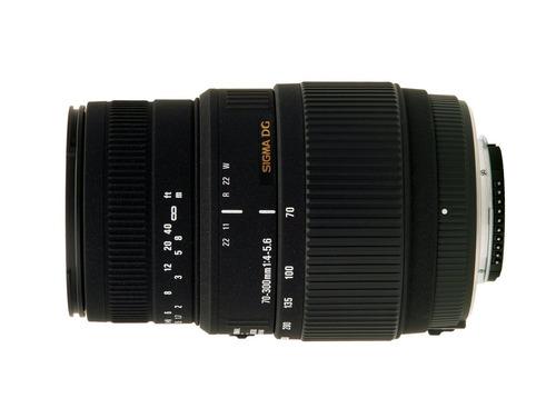 lente sigma 70-300mm f/4-5.6 dg macro telephoto zoom canon