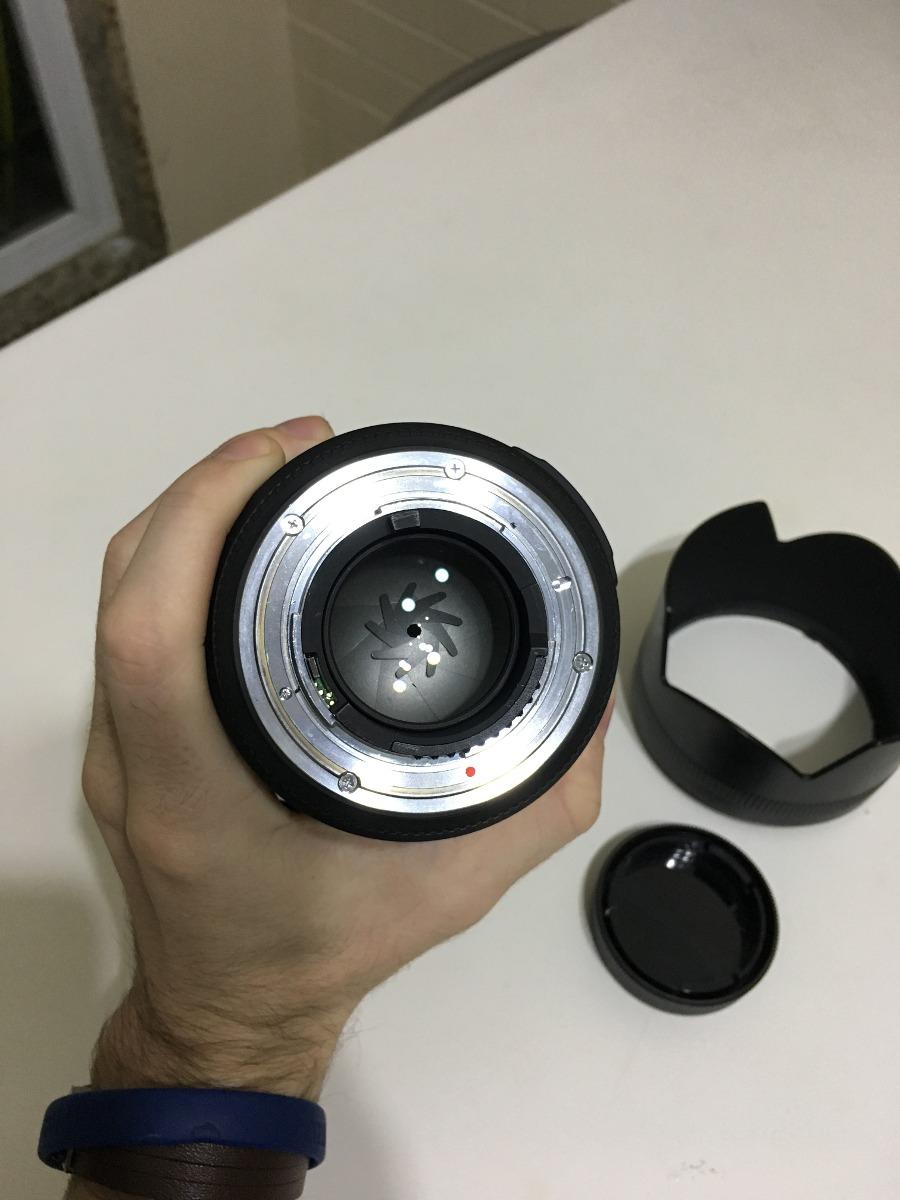 Lente Sigma 85mm F 14 Ex Dg Hsm Nikon 2 Meses De Uso R 3797 For Carregando Zoom