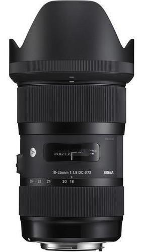 lente sigma art 18-35mm f/1.8 dc hsm para nikon f