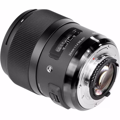 lente sigma art dg 35mm f/ 1.4 hsm para nikon pronta entrega
