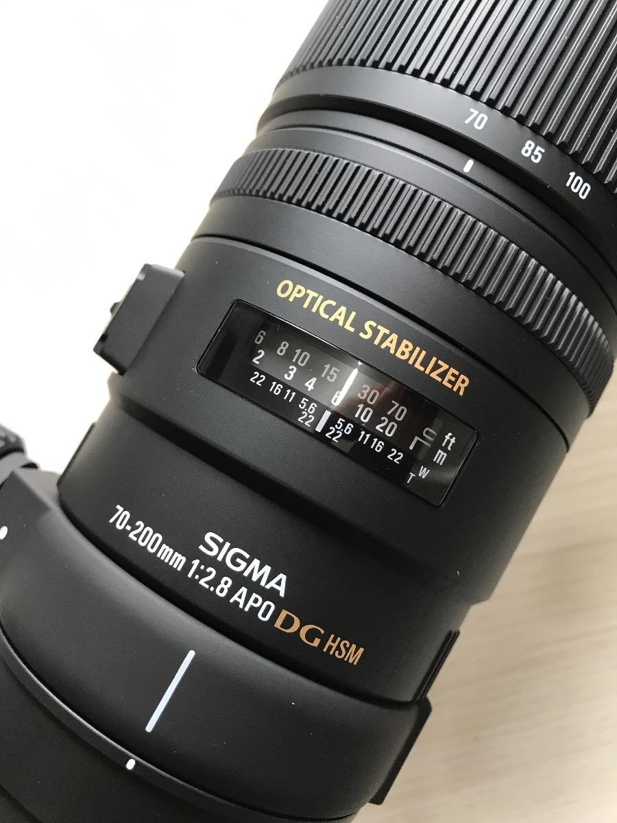 378a4a088 Lente Sigma Para Canon 70-200mm F2.8 Apo Ex Dg Os Estabiliza - R ...
