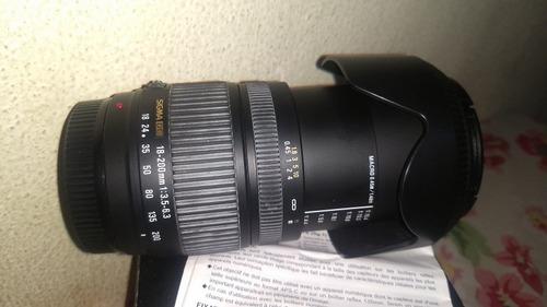 lente sigma para sony alpha a-mount semi nova caixa tampas