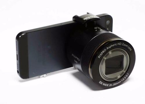 lente smart kodak pixpro sl10 16mp full hd wifi android mac