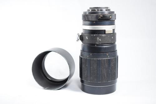 lente soligor 200 mm tele auto