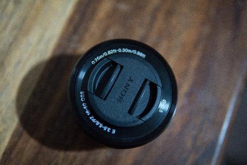 lente sony 16-50 montura e para camara sony