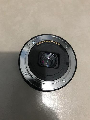 lente sony 16-50mm montura e