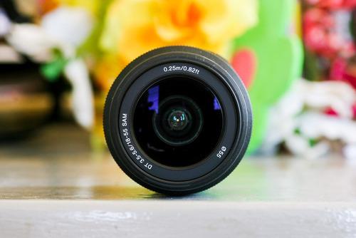 lente sony 18-55mm 3.5-5.6f para montura a