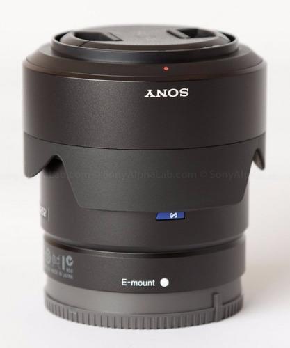 lente sony 24mm f/1.8 za e-mount carl zeiss sonnar t* em sp.