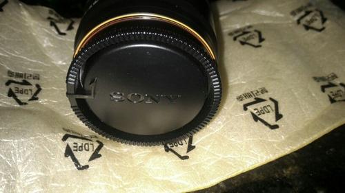 lente sony 75-300mm f/4.5-5.6 + sony alc-sh0007 lens hood