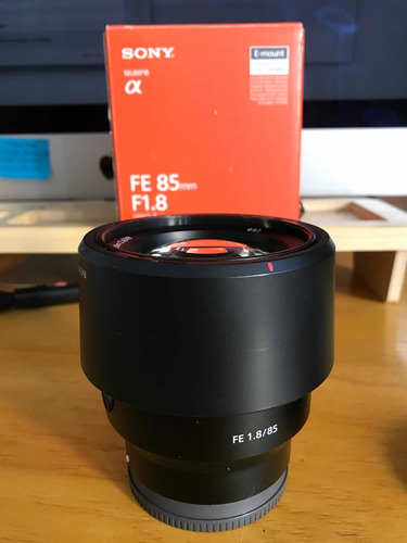 lente sony 85 1.8