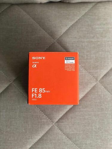 lente sony 85mm f/1.8