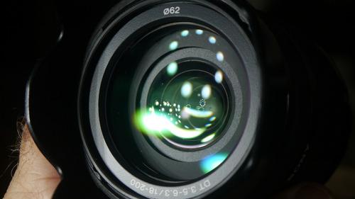 lente sony alpha 18-200mm dt 3.5-6.3 sam