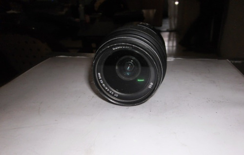 lente sony alpha 18-55