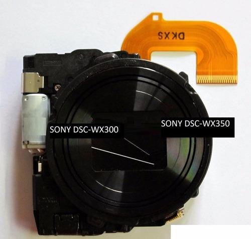 lente sony dsc-wx300 wx350 zoom óptico lente optico camara