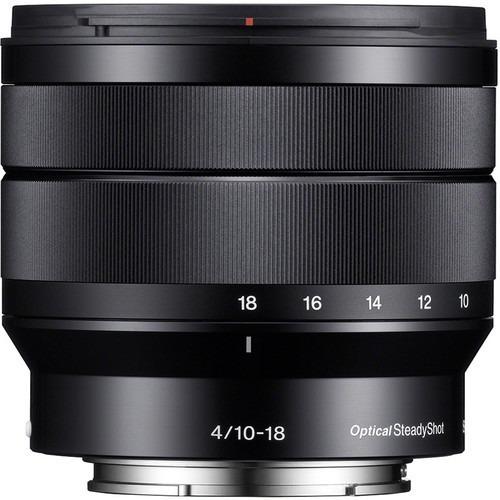 lente sony e 10-18mm f/4 oss e-mount sel1018 - nova !