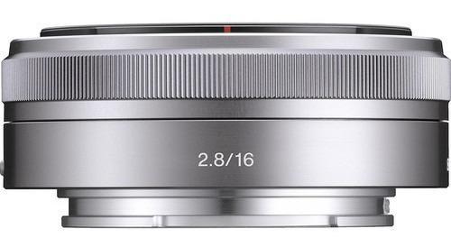 lente sony e 16mm f/2.8 - sel16f28 - lj. platinum