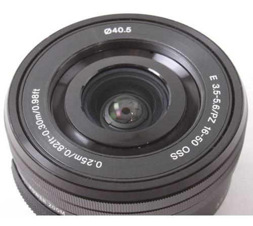 lente sony e pz 16-50mm f/3.5-5.6 oss - lj. platinum