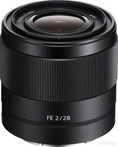 lente sony fe 28mm f/2 e-mount sel28f20 - full frame nova !