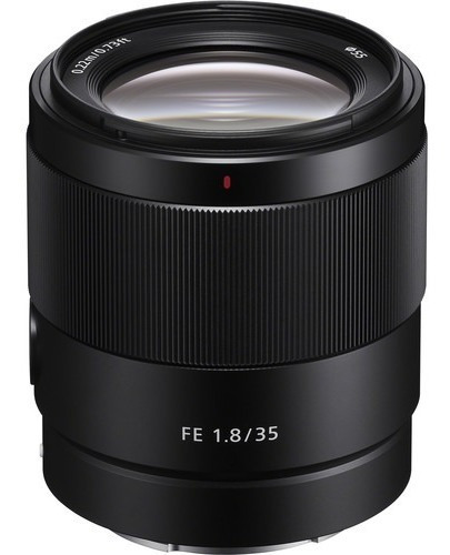 lente sony fe 35mm f/1.8 - sel35f18f - lj. platinum