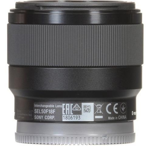 lente sony fe 50mm f/1.8 (sel50f18f) garantia novo