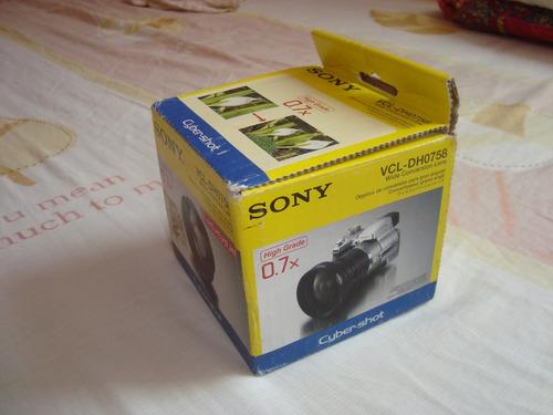 lente sony gran angular para camaras y videocamara.