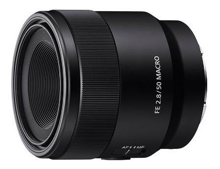 lente sony macro fe de 50mm f2.8