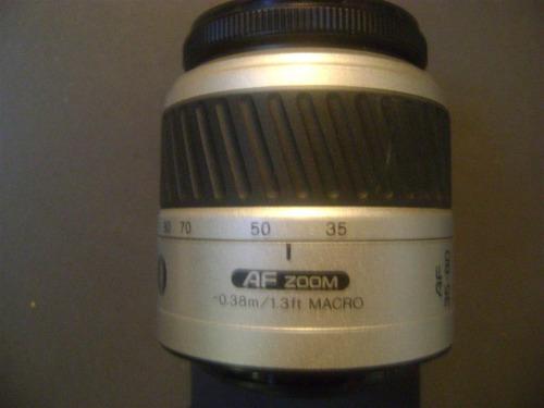 lente sony o minolta 35-70af 1:3.5